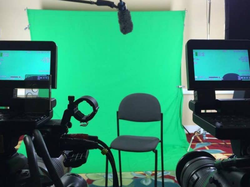 Corporate event video production in orlando with green screen