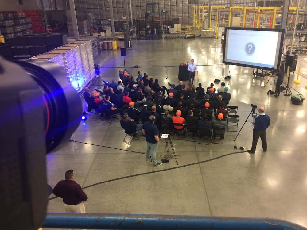 Event videography at corporate video production event in Orlando