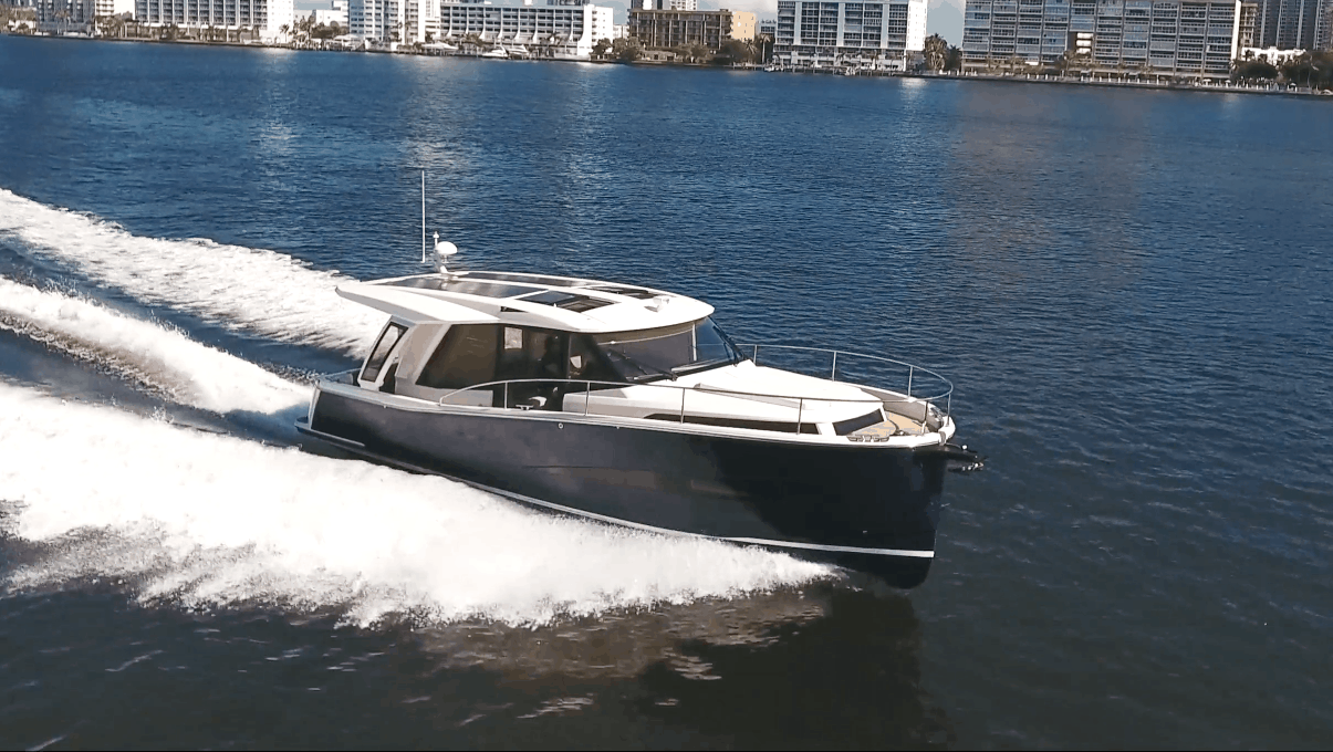 Promotional video for boat shot by Adjust Video production in Miami, Florida